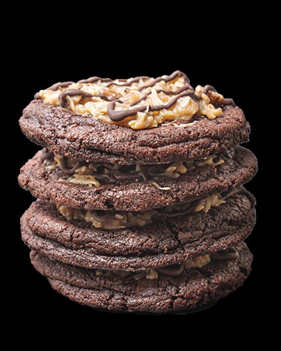 German Chocolate Cookie